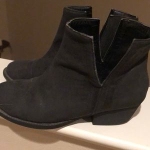 Very cute booties. Great with jeans, skirts dress